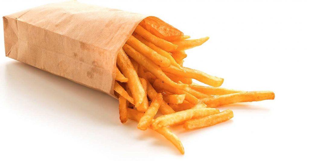 Bolsas de papel para patatas fritas