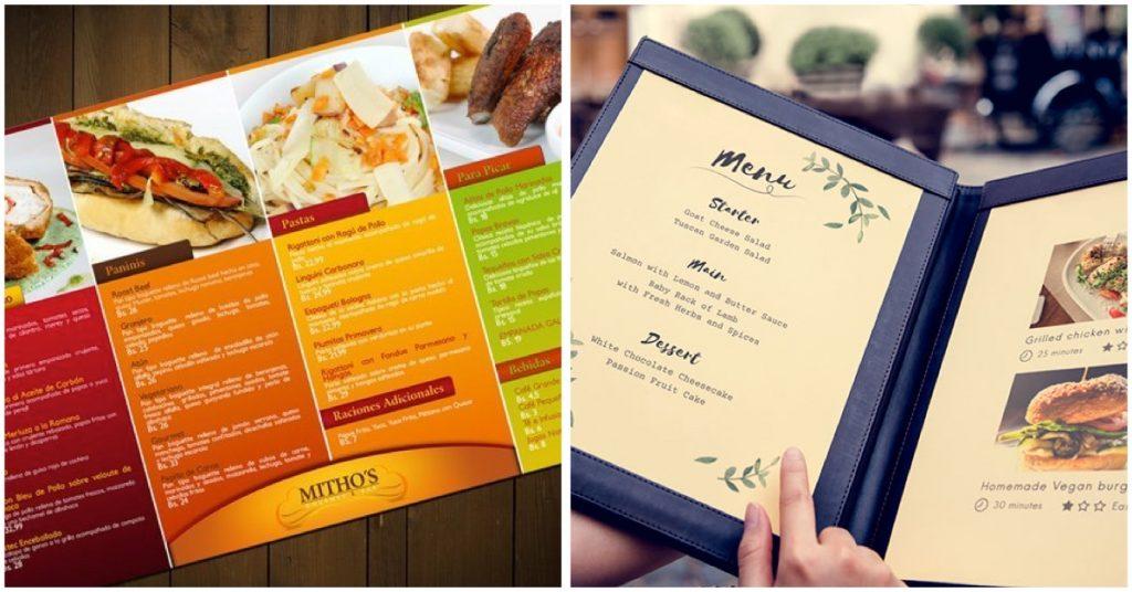 Información que debe contener tu carta de restaurante
