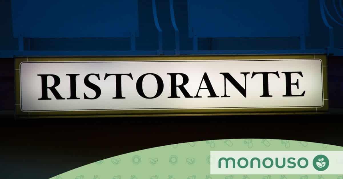 Restaurantbord om de aandacht van uw potentiële klanten te trekken