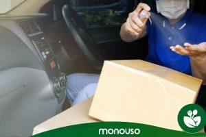 Sleutels voor het ophalen van pakketten zonder gezondheidsrisico's