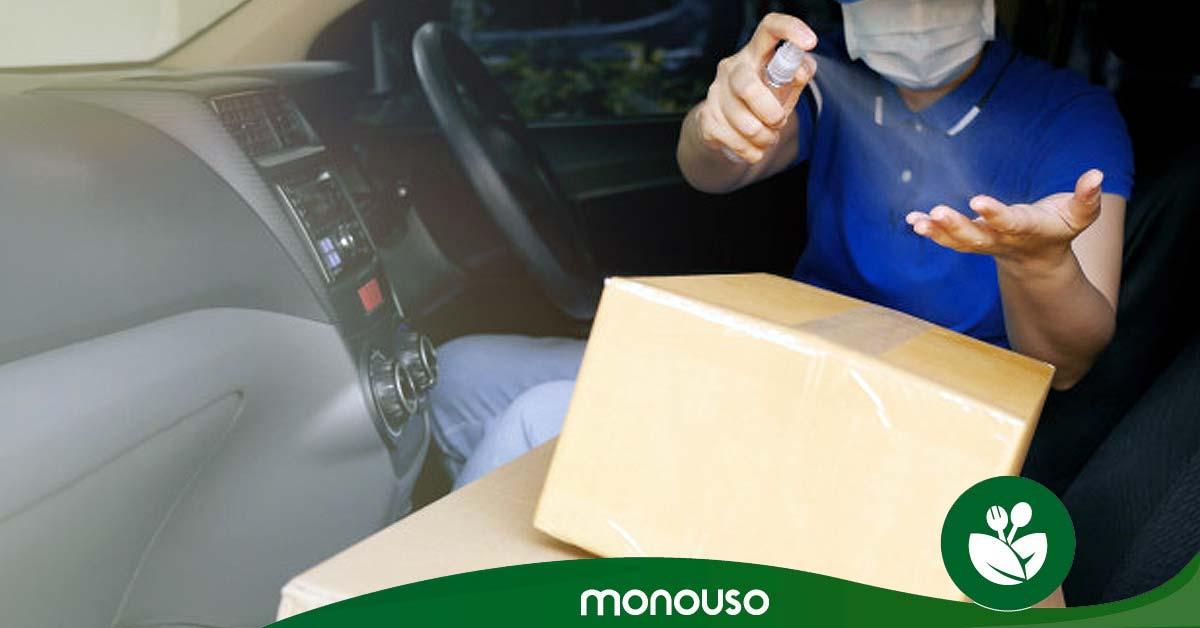 Claves para recoger paquetes sin riesgo sanitario