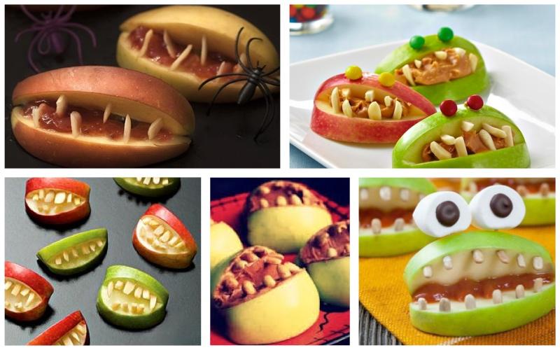 Manzanas mordedoras