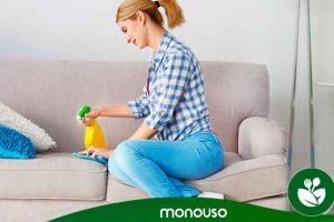 Hoe maak je gestoffeerde meubelen schoon?