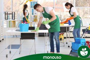 Reinigingsproducten om de hygiëne op kantoor te garanderen